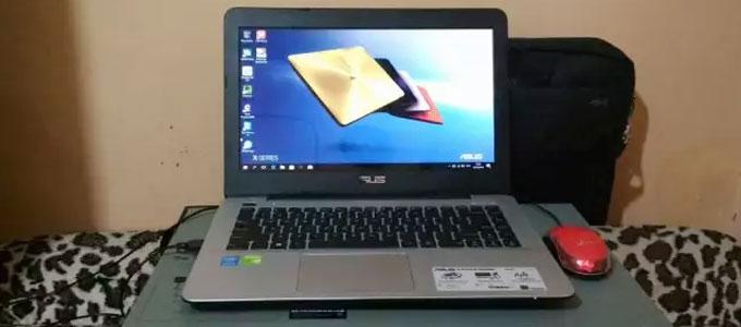 ASUS X455LJ - www.olx.co.id