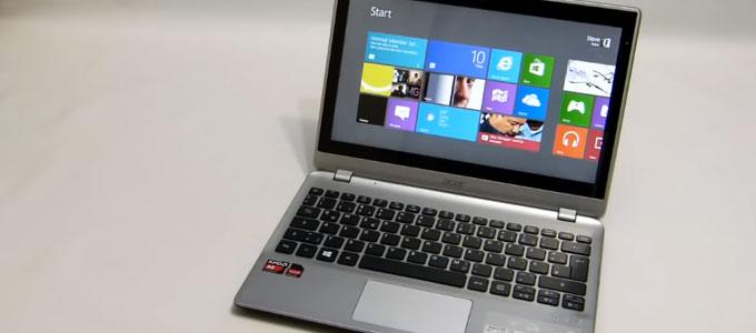 Acer Aspire V5-122P (youtube: Steve Paine)